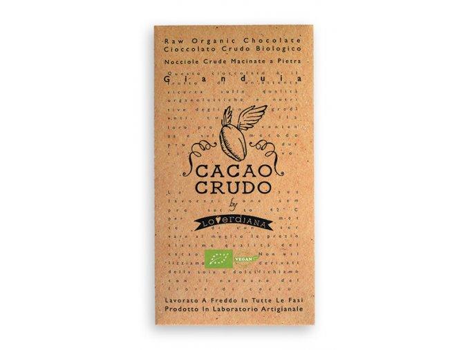 Cacao Crudo - Lískooříšková (Cacao 50%), Raw & Bio 50g