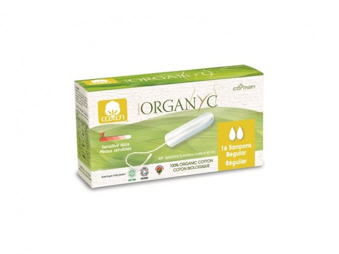 Bio Organyc tampony REGULAR