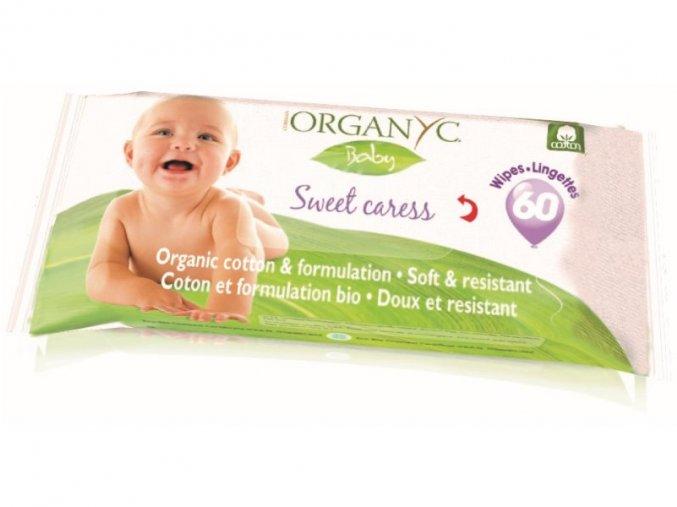Bio Organyc dětské čisticí ubrousky