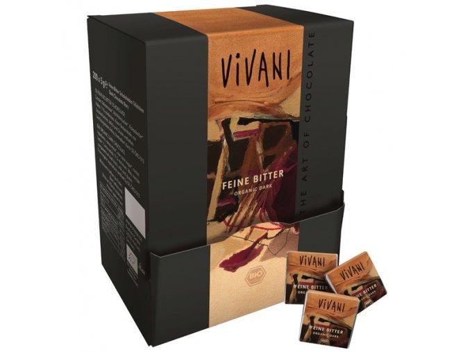 VIVANI Bio hořká čokoláda 71% MINI 5g