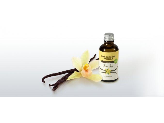 Bourbon vanilkový extrakt bio 50ml