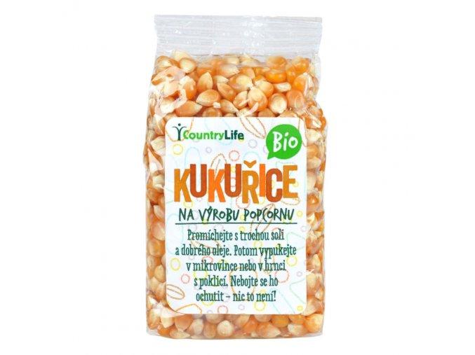 Kukuřice na výrobu popcornu 200 g Bio