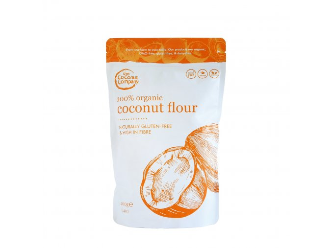 1320 kokosova mouka bio the coconut company 400 g