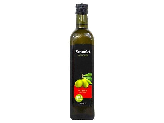 Extra panenský olivový olej, Bio - Smaakt, 500 ml