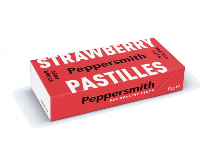 Peppersmith bonbóny - Jahodové, 15 g