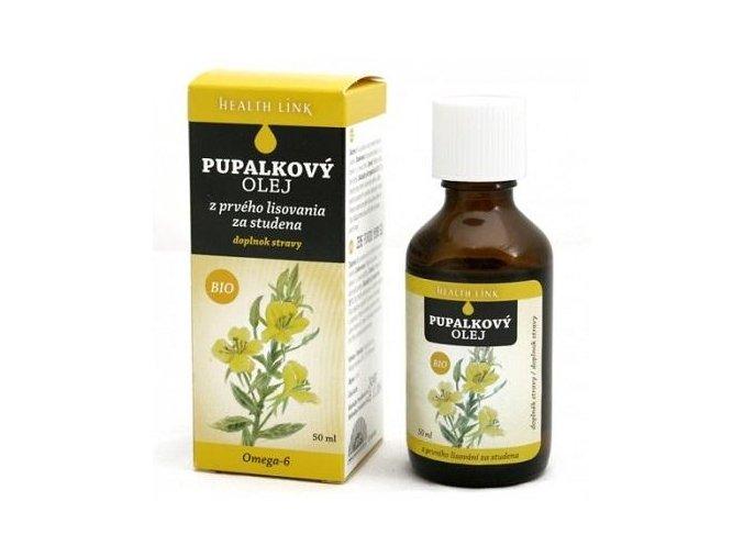 Pupalkový olej, bio 50ml