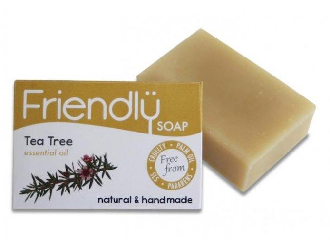 Friendly Soap přírodní mýdlo tea tree