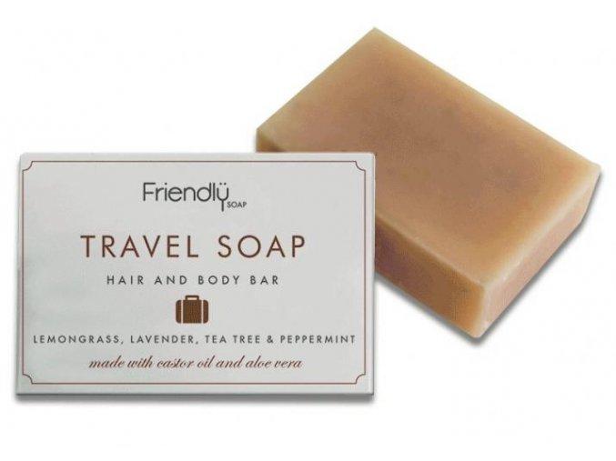 Friendly Soap přírodní mýdlo na tělo i vlasy na cestování