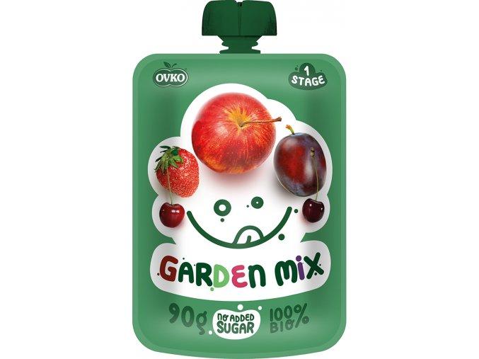 Bio kapsička zahradní směs 90g