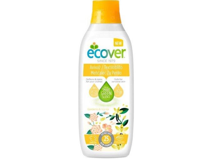 ECOVER tkaninová aviváž Gardenie vanilka 750 ml