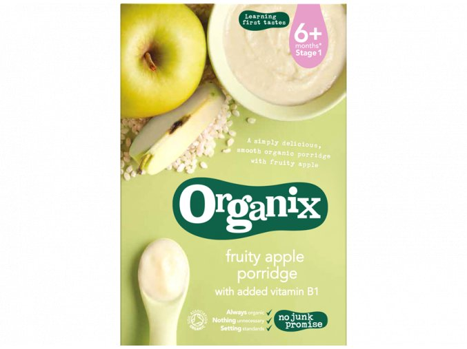 Jablečná kaše - Apple Porridge - Organix, 120 g - AKCE