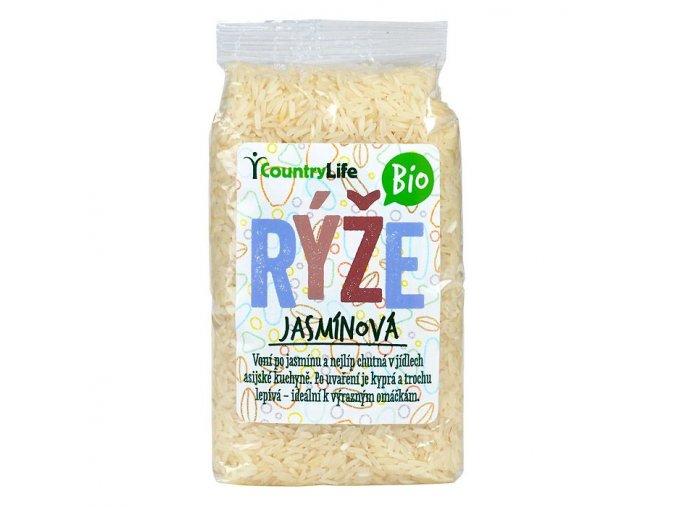Rýže jasmínová, bio - Country Life 500 g