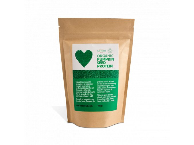 AKCE - Sun & Seed Dýňový protein - Bio, raw 450 g