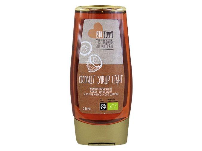 Kokosový sirup světlý, Bio Today 250 ml - AKCE