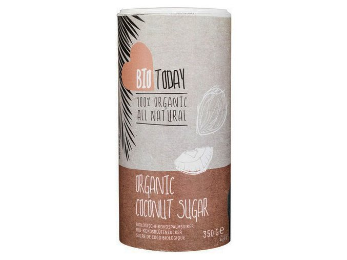 Kokosový cukr – Bio Today, 350g - AKCE