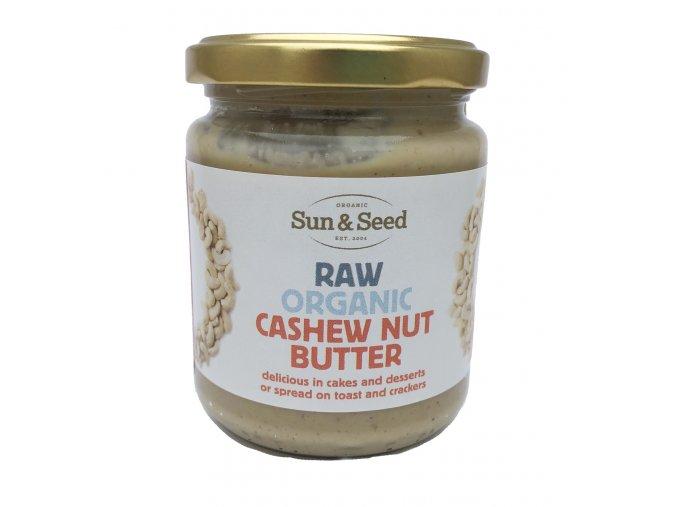 Kešu máslo, Bio, Raw - Sun & Seed 250 g
