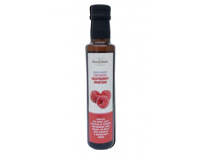 Malinový ocet, bio - Sun & Seed 250 ml