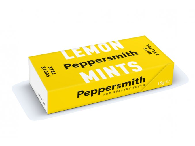 Peppersmith bonbóny - Sicilský citron a máta, 15 g