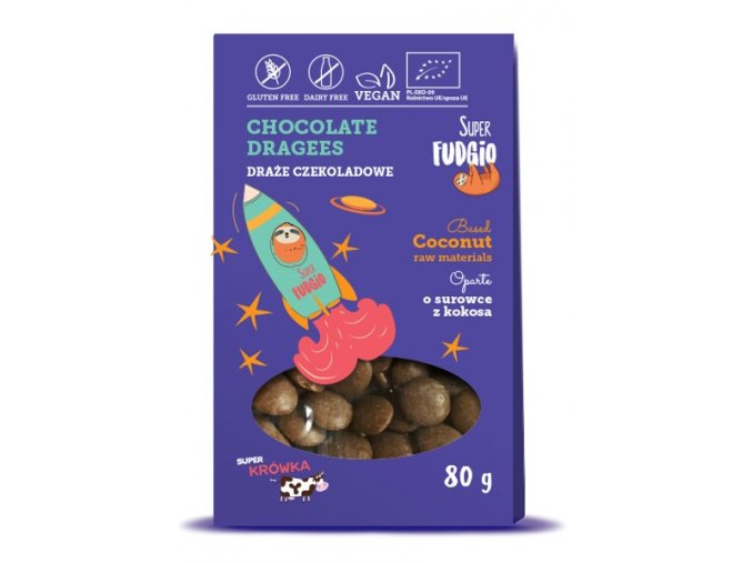 SF organic chocolate dragees