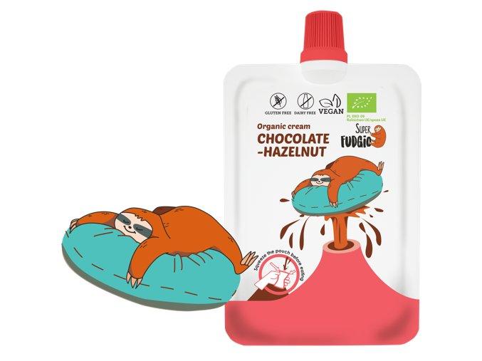 Čokoládovo-ořechový krém v kapsičce