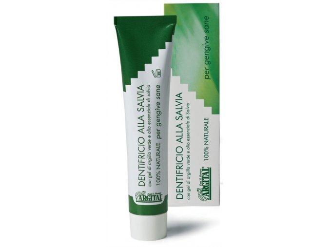 Zubní pasta se šalvějí a jílem 75ml