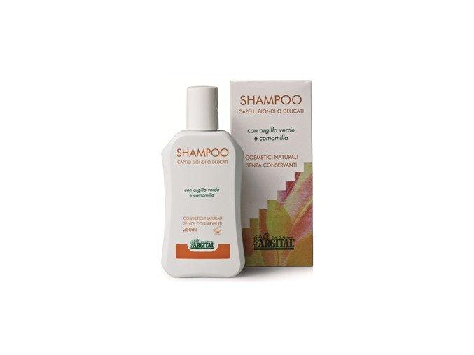 Šampon na blond a jemné vlasy s heřmánkem - Argital, 250ml