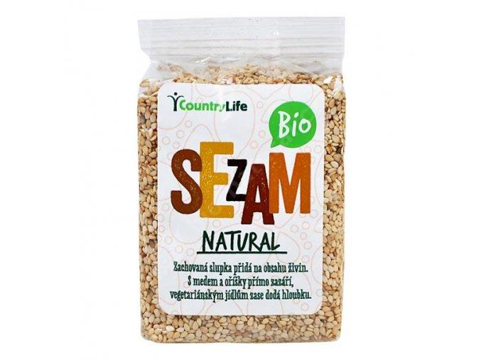 Sezam přírodní neloupaný 100 g BIO