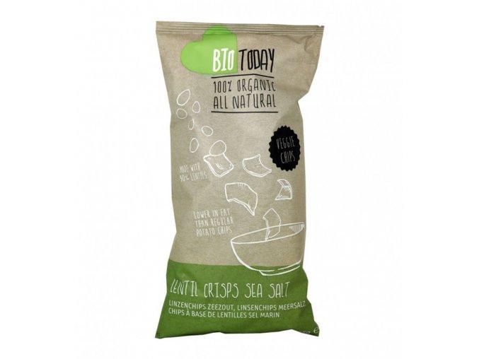 Zeleninové chipsy - Čočka a mořská sůl, bio – BioToday, 75g - AKCE