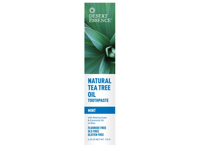 Pasta na zuby - MÁTA (Natural Tea Tree Oil Toothpaste — Mint)