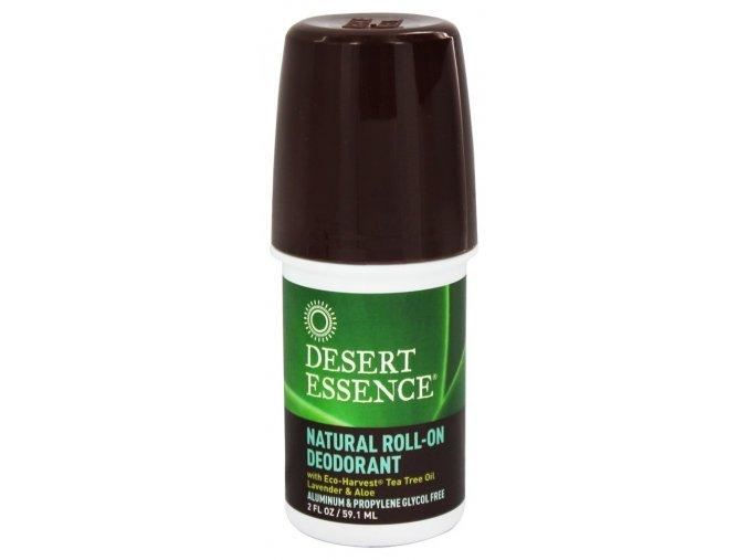 Roll-on deodorant bez hliníku s levandulí, tea tree olejem a výtažkem z aloe 59ml