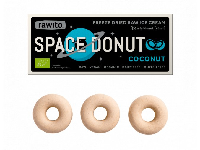 Rawito SpaceDonut 4 Coconut