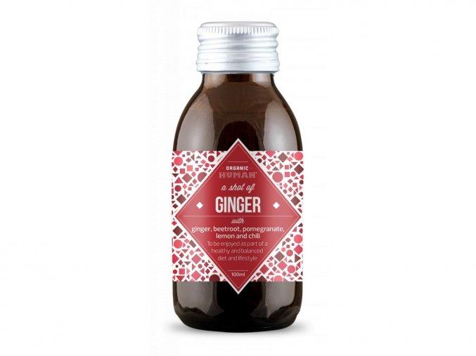 Vitamínový shot Ginger - Zázvor – Organic Human, 100 ml