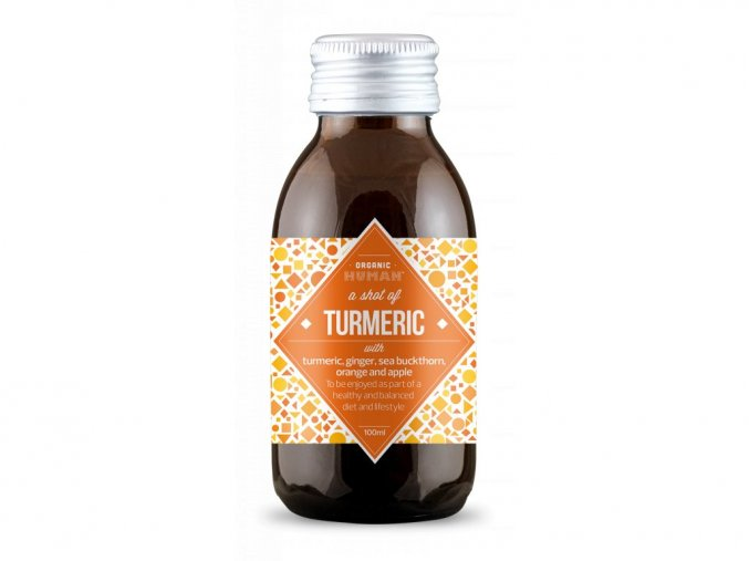 Vitamínový shot Turmeric - Kurkuma – Organic Human, 100ml
