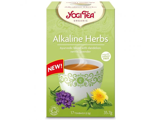 Yogi Tea - Alkaline Herbs, bio - 17 x 2,1g