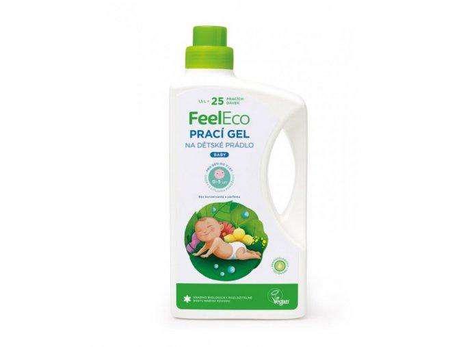Prací gel Baby, na dětské prádlo - Feel Eco, 1,5 l