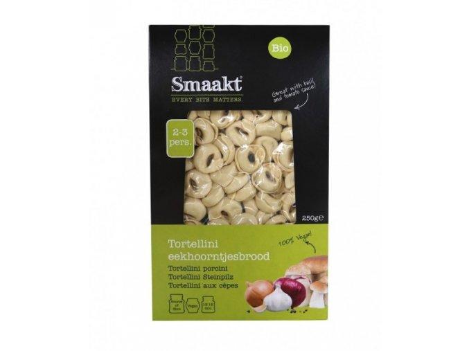 Tortellini s hříbkovou náplní, bio, vegan - Smaakt, 250 g