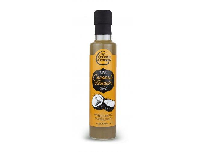 "Kokosový ocet ""klasik"", Bio, Raw – The Coconut Company, 250 ml"