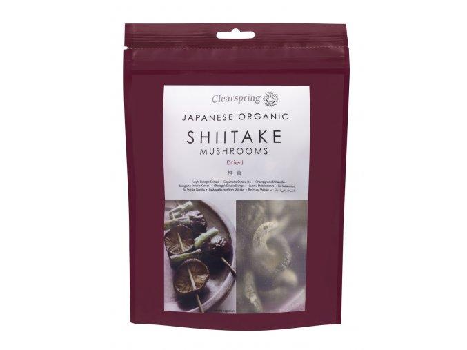 36918 japonske susene houby shiitake bio clearspring 40g