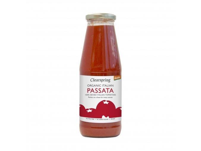 36888 italský rajský protlak passata bio demeter clearspring