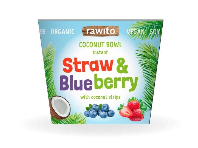 strawberry coconut bowl