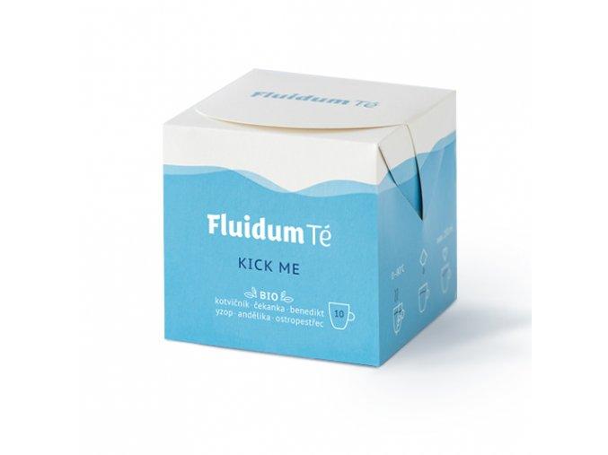 Kick Me, tekutá čajová směs, bio - Fluidum Té, 10 sáčků - AKCE