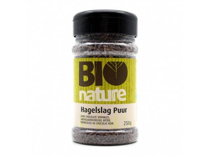 Tmavé čokoládové sypání, bio, vegan - Bio Nature, 250 g