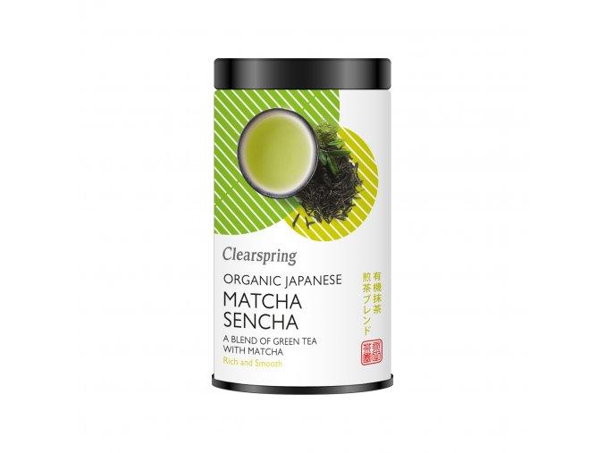 36984 japonsky zeleny caj sencha matcha bio clearspring 85g