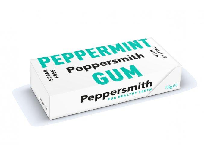 Peppersmith žvýkačky - Máta peprná, 15 g