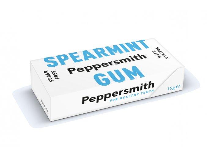 Peppersmith žvýkačky - Máta kadeřavá, 15 g