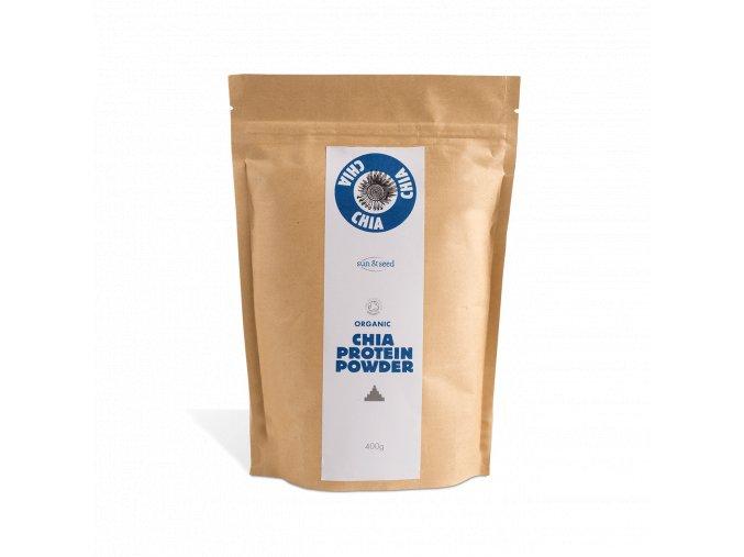 Sun & Seed Chia protein - Bio, raw, 400 g