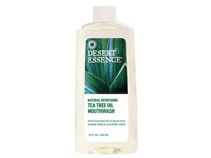 Ústní voda – Máta (Tea Tree Oil Mouthwash)