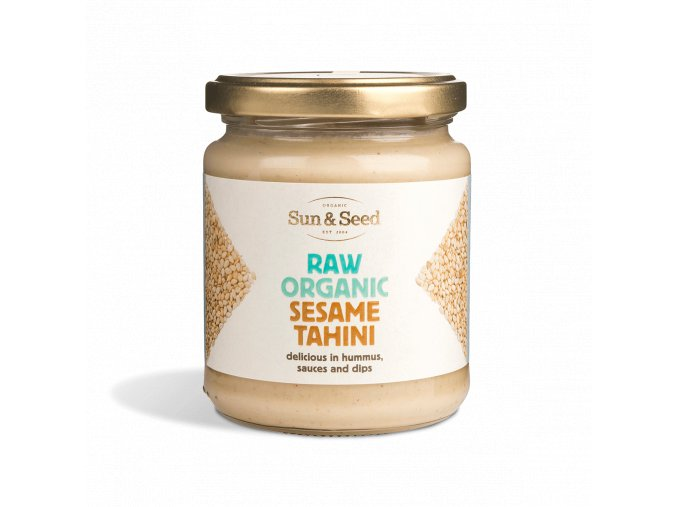 Tahini pasta z bílého sezamového semínka - Bio, raw 250g
