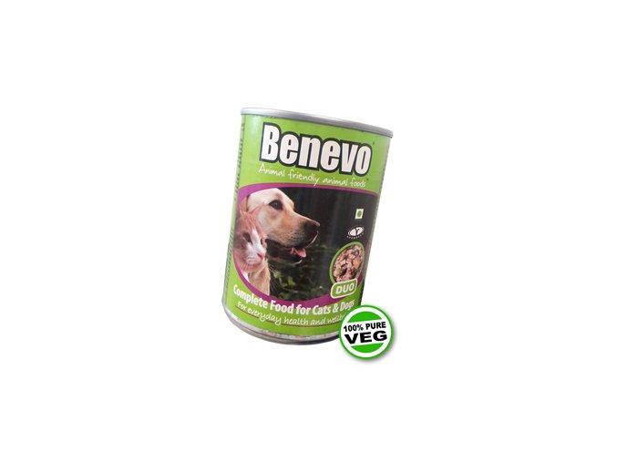 Benevo duo konzerva pro kočky i psy 362g