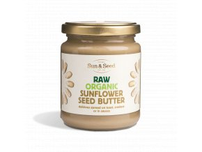 Slunečnicová pasta - Bio, Raw 250g